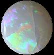 crazed white opal