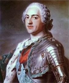platinum Louis XV
