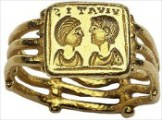 Roman couple ring