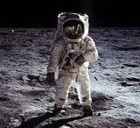 Aldrin on Moon