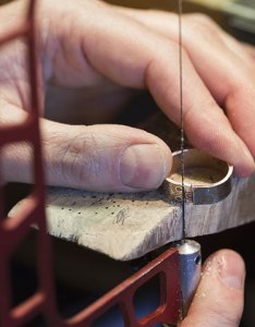 Sawing  ring with jeweler   saw also jewelry and cutting techniques rh making