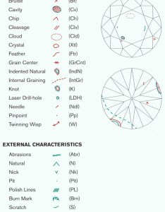 Gia diamond plot key of symbols also flaws chart  jewelry secrets rh
