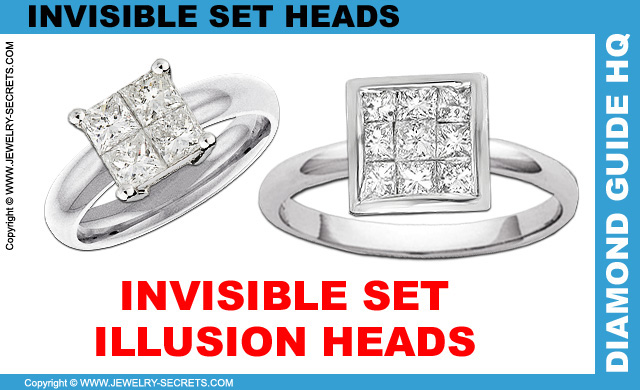 Invisible Setting See What 39 S Missing. repair invisible set diamond ring   Wonderful Design Of The Rings