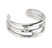 Jewelry Diamond Toe Rings, A Cherry On Top Of Your ...