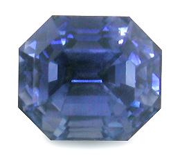 Elongated Octagon Sapphire Bijoux Extraordinaire