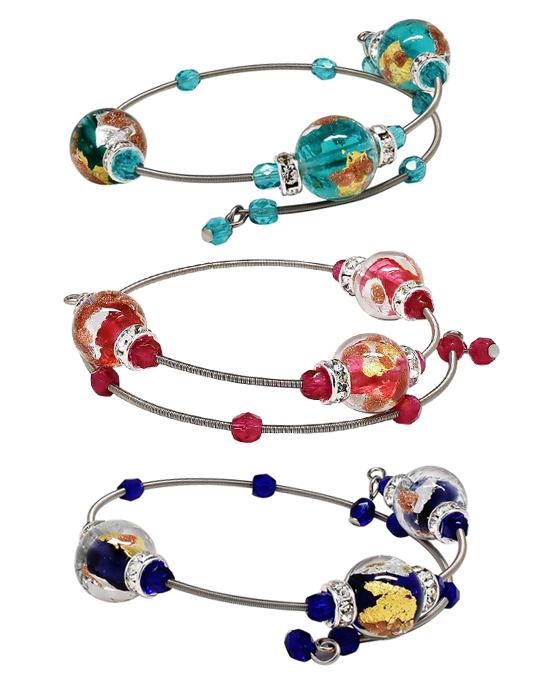 Glass Bead Bracelets | Jewelry Photographer