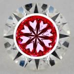 James Allen Light performance images - Idealscope -hearts