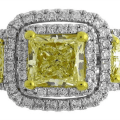 How to choose yellow diamond for engagement ring