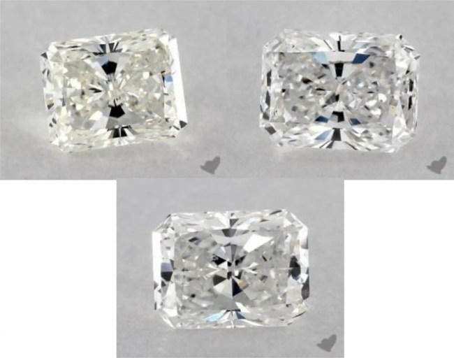 bow tie diamond radiant cut