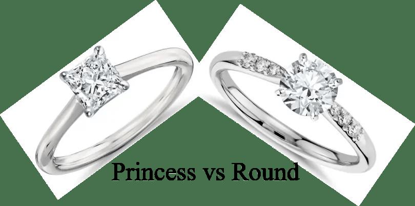 Princess Cut vs Round Cut