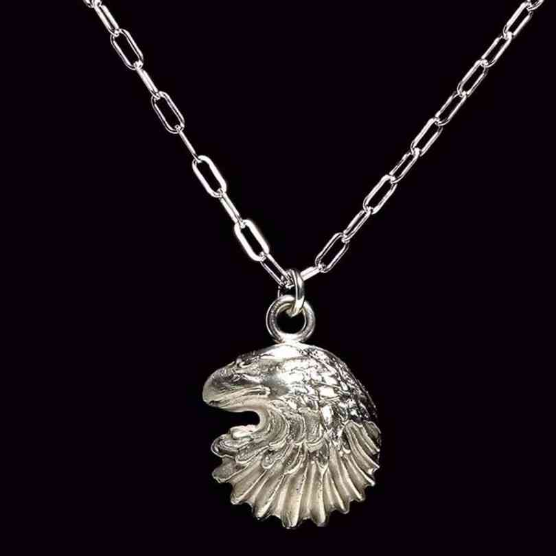 Sterling silver vs silver jewelry guide silver eagle head pendant mozeypictures Gallery