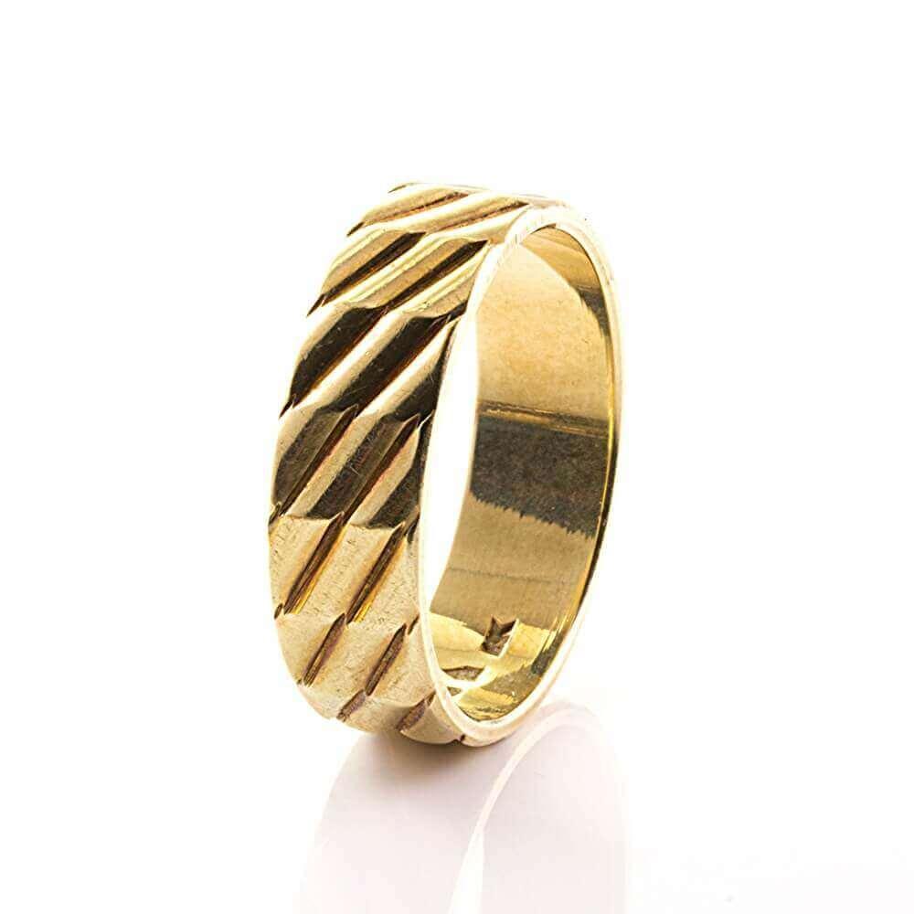 Herren ringe echt gold  Modeschmuck