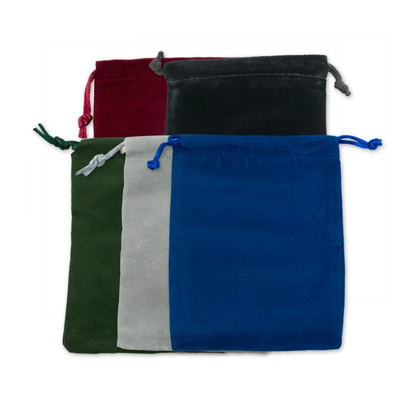 velvet drawstring pouch assortment