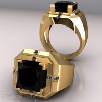3D Jewelry Design: Blank Signet M  Jewelrythis