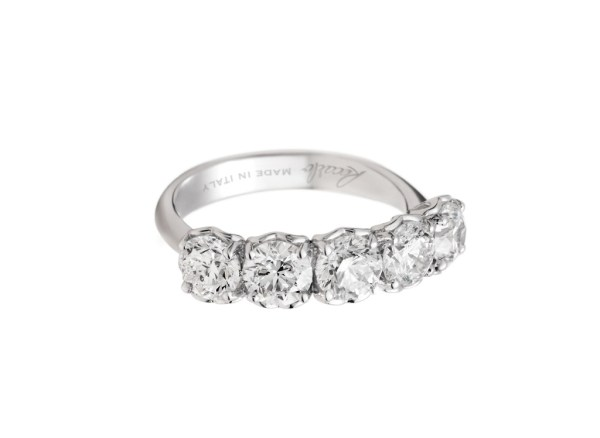 anello recarlo anniversary con diamanti