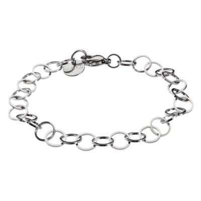 bracciale catena acciaio