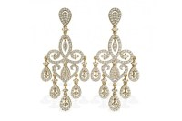 Indian Chandelier Earrings Silver - Chandelier Ideas