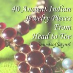 List of Ancient Indian Jewellery