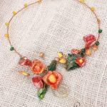 Efflorescence – My first Art bead Jewelry challenge