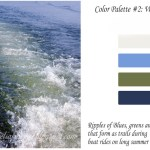 Every Color has a story – water trails