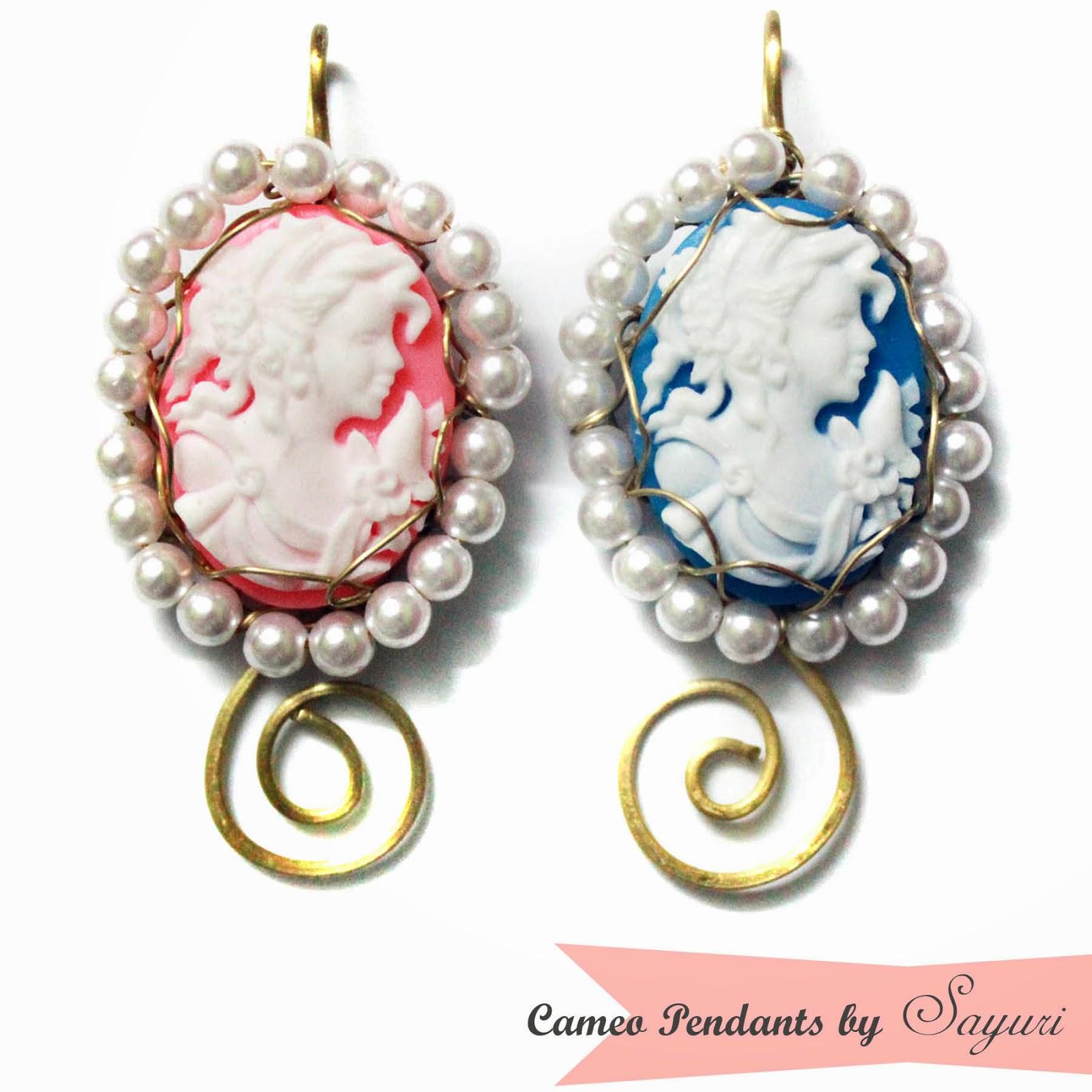 wire wrapped Cameo pendant Tutorial | Jewels of sayuri