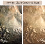 How to clean brass and copper sheets