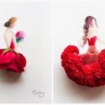 We're All Ears: Flower earrings