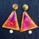 Le Triangle earrings