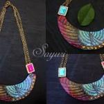 Paprika Bib necklaces