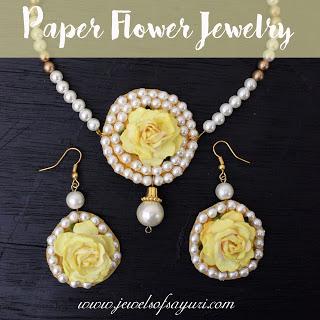 haldi flower jewelry