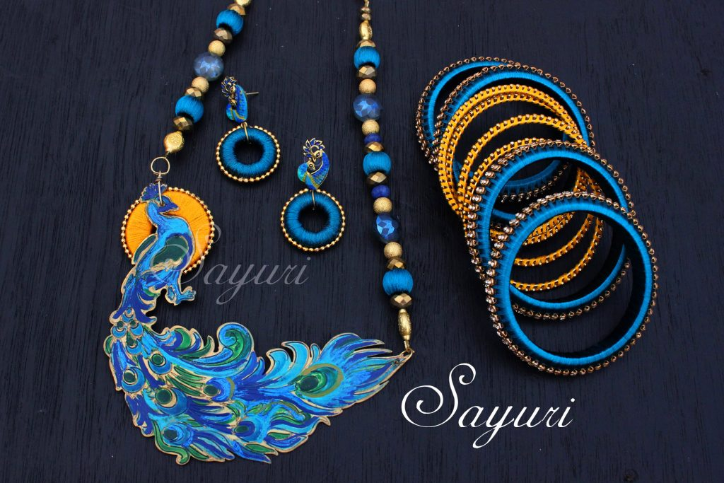 Vibrant Bridal Silk Thread Jewelry Jewels Of Sayuri