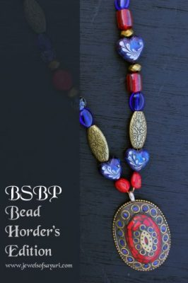 BSBP Tibetan Mosaic necklace