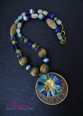 Anil Basket necklace