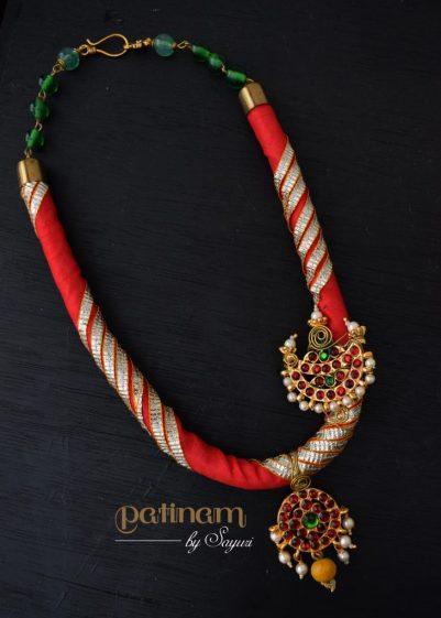 Dance necklace kemp jewelry by Sayuri