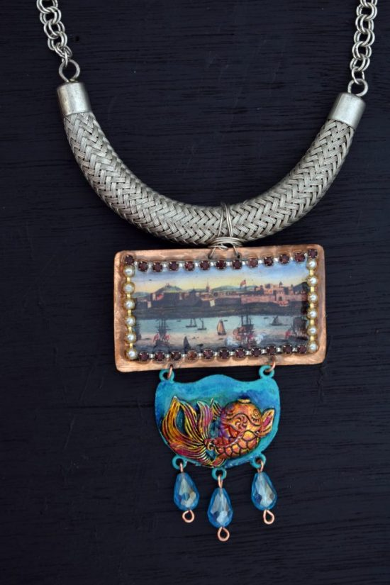 Fort St.George necklace