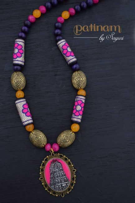 Marundeeshwar temple necklace