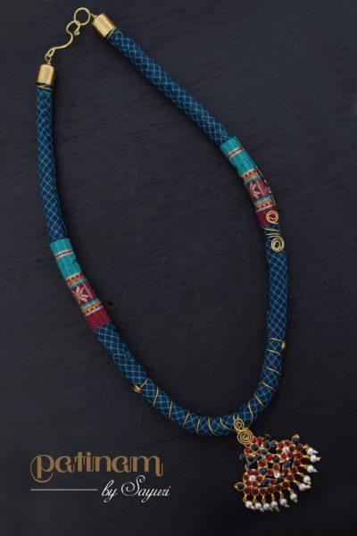 Fabric dance jewellery by Sayuri