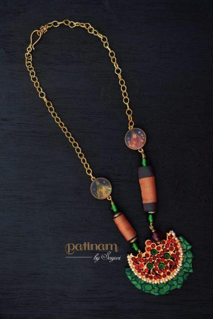 lakshmi necklace