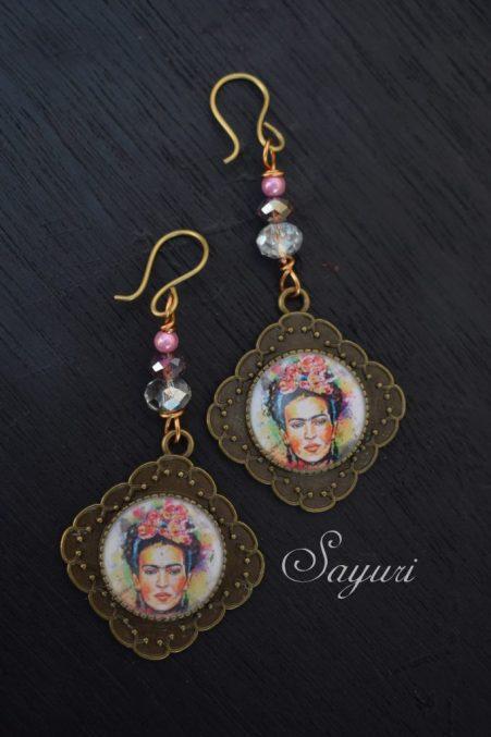 Frida kahlo earrings hook