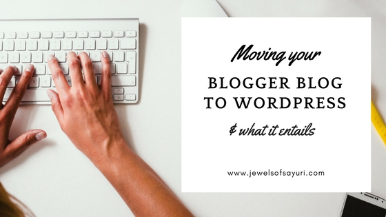 Moving your blog from Blogger to WordPress