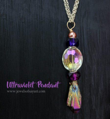 Ultraviolet DIY pendant1