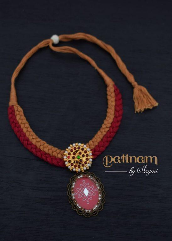 kolam necklace