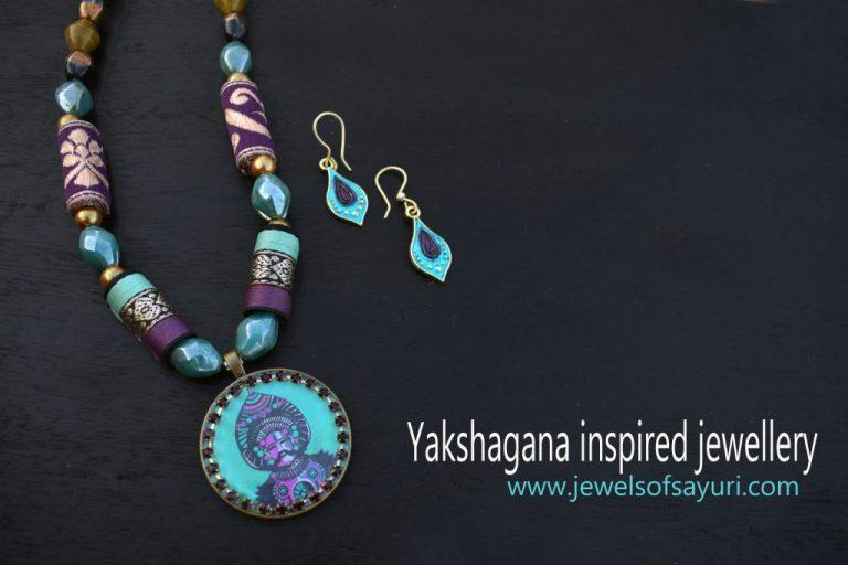 yakshagana inspired jewellery