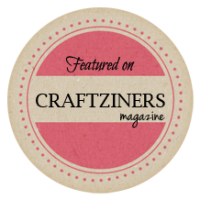 I was featured on Craftziners Magazine