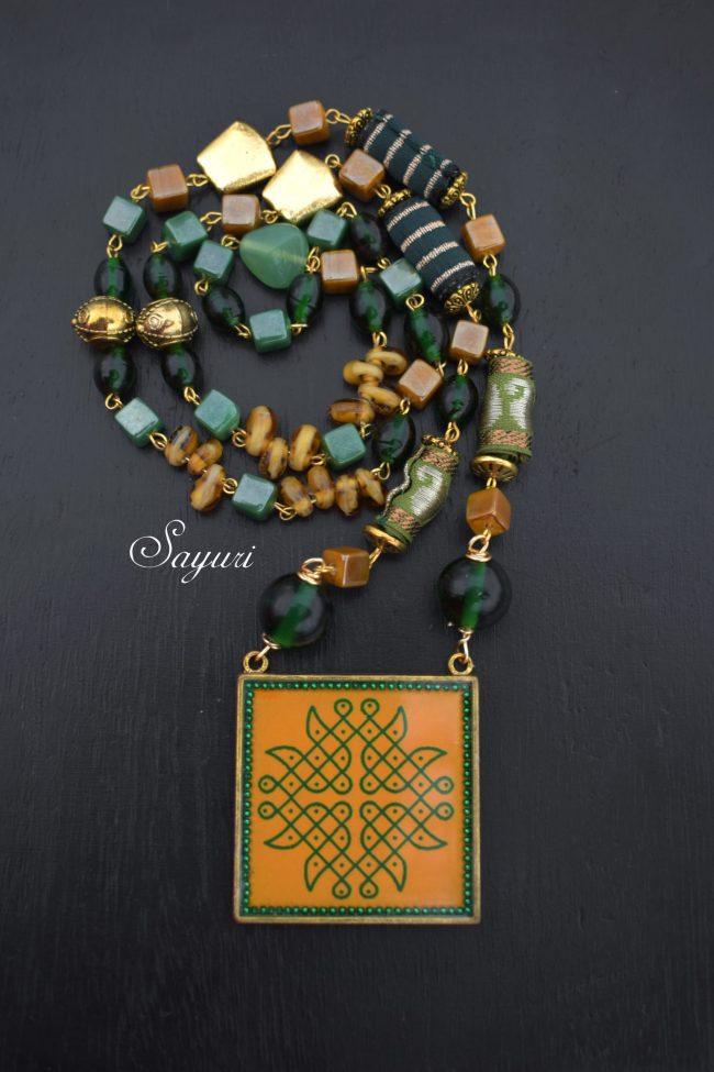 Kolam jewellery
