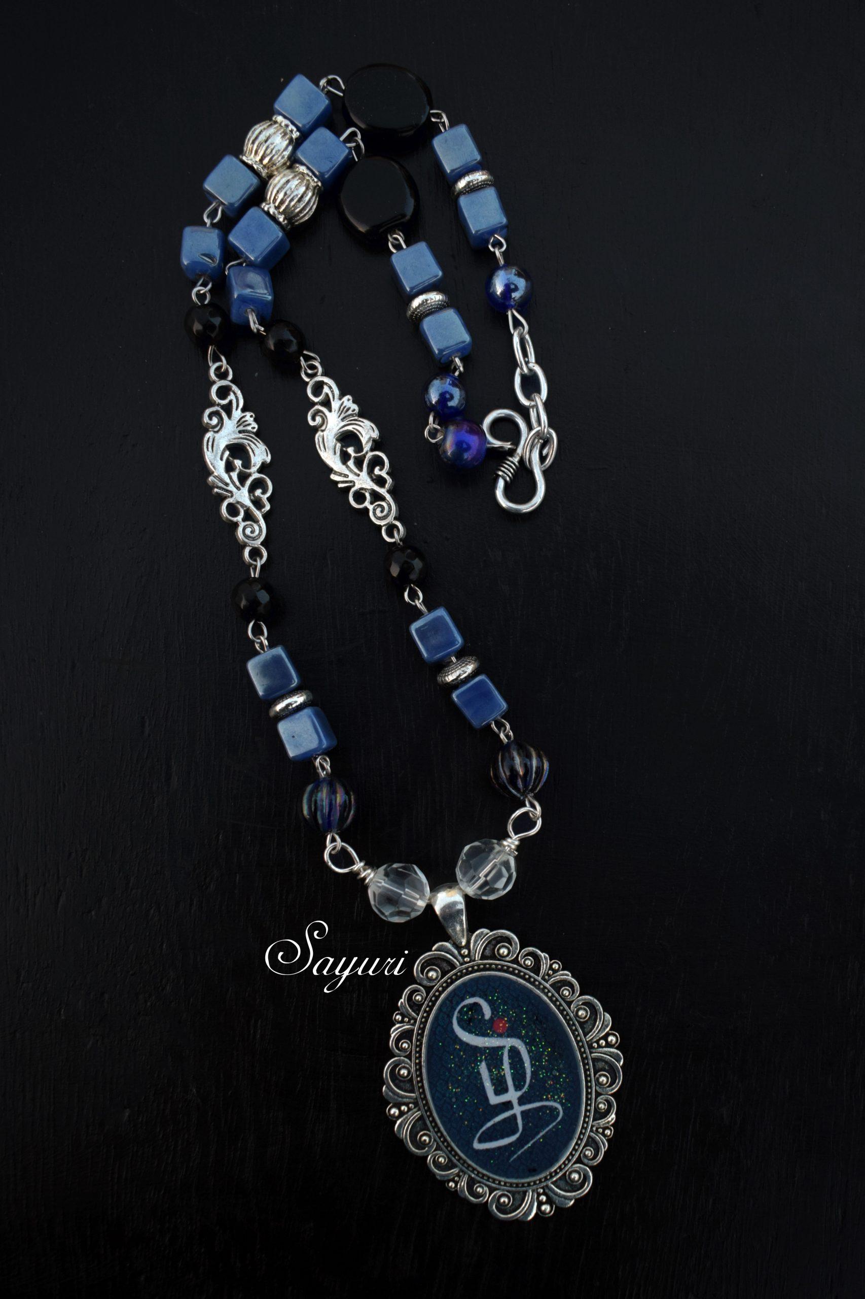 Tamil logo necklace