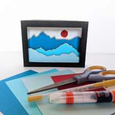 Art Workshop Shadow Box Art and Supplies