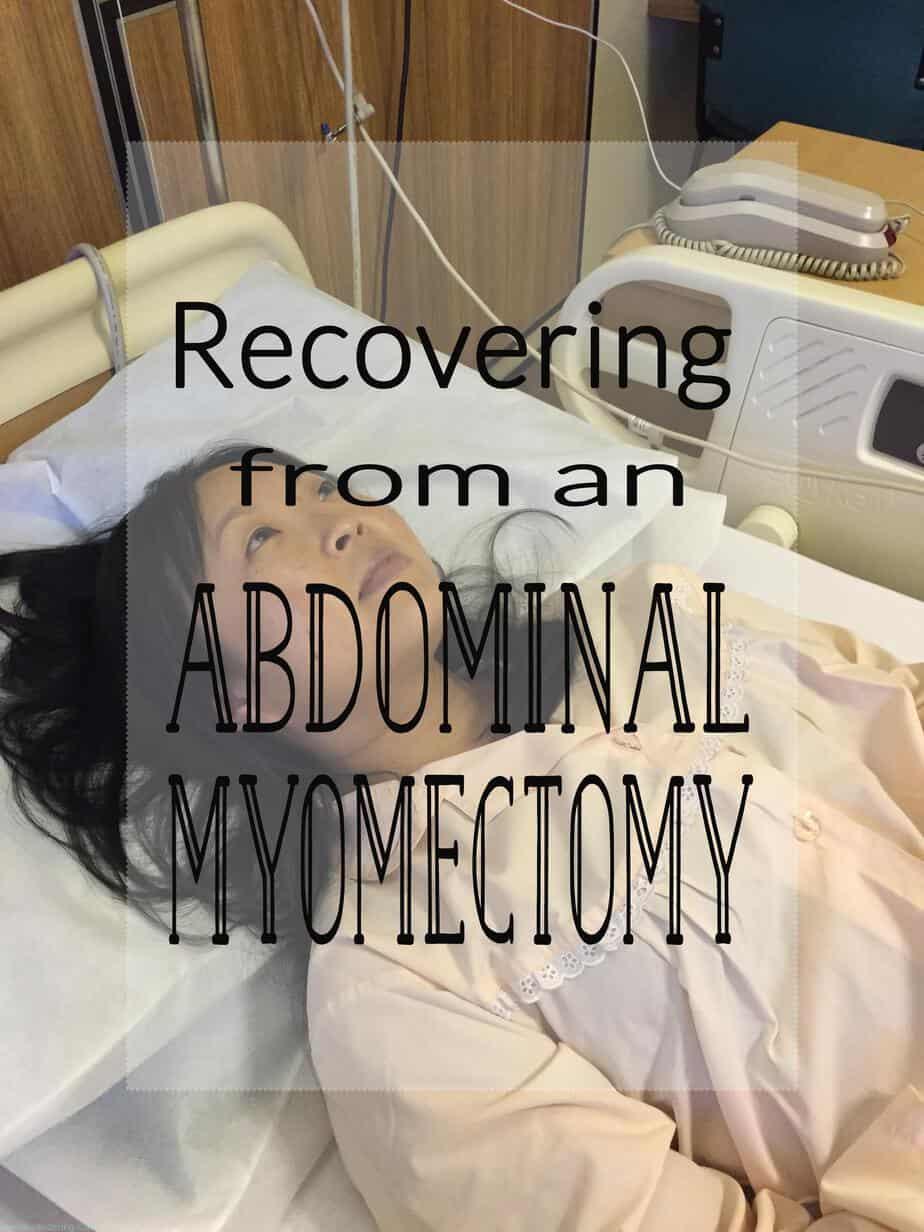 After an Abdominal Myomectomy