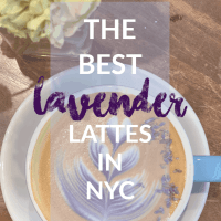 The Best Lavender Lattes in New York City