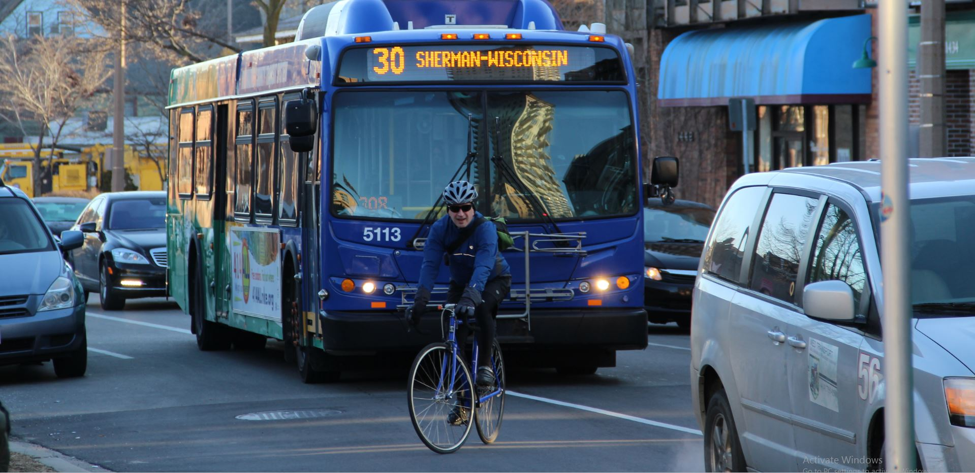 Entrepreneur connects bus system with riders  Wisconsin